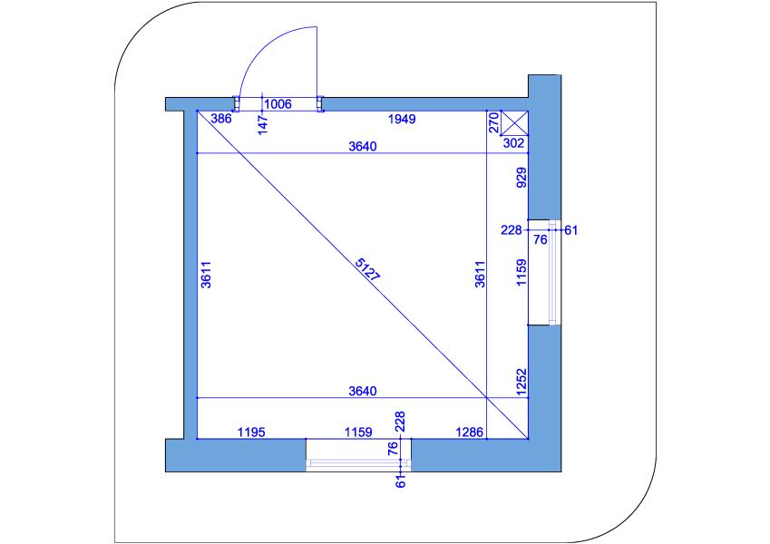 2-Accurate 2D Floor Plan