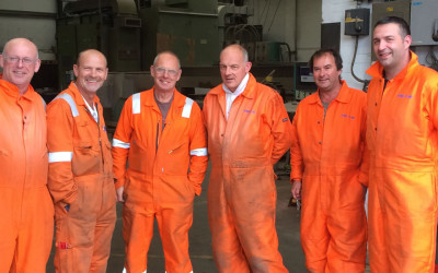 Team supplied for secondary and tertiary fabrication